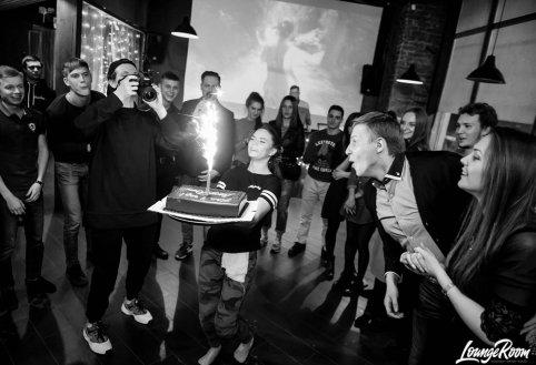 Фотоотчет с празднования нашего дня рождения