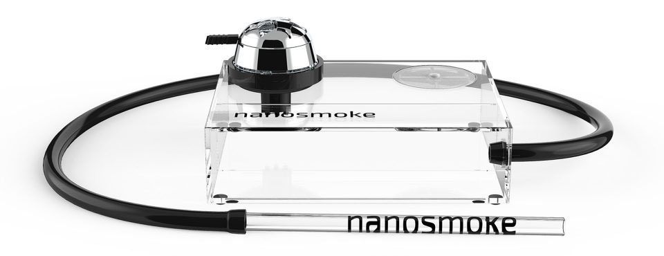 Необычные кальяны Hookah Box Cube и Nanosmoke Cube
