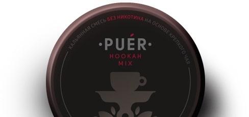Чайная бестабачная безникотиновая смесь Puer Hookah Mix